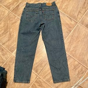 Levi's mom Jeans 550 high waist 10 short tapered